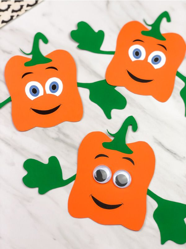 Easy Spookley The Square Pumpkin Craft For Kids