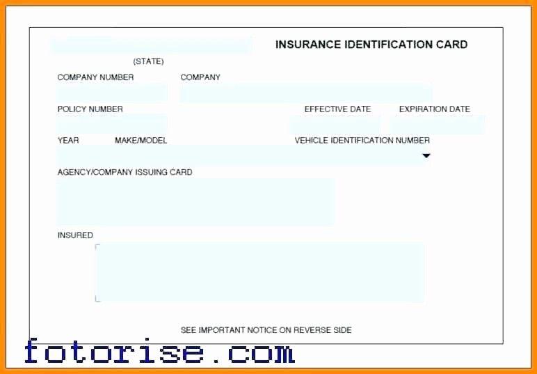 Auto Insurance Card Template Pdf Best Of Auto Insurance ...