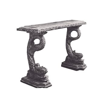 Dolphin Console      E-mail this product to a friend E-mail this product to a friend    Regular Price: $1,059.00   On Sale For: $264.75   SKU: 122011  Dimensions: 63W x 32H