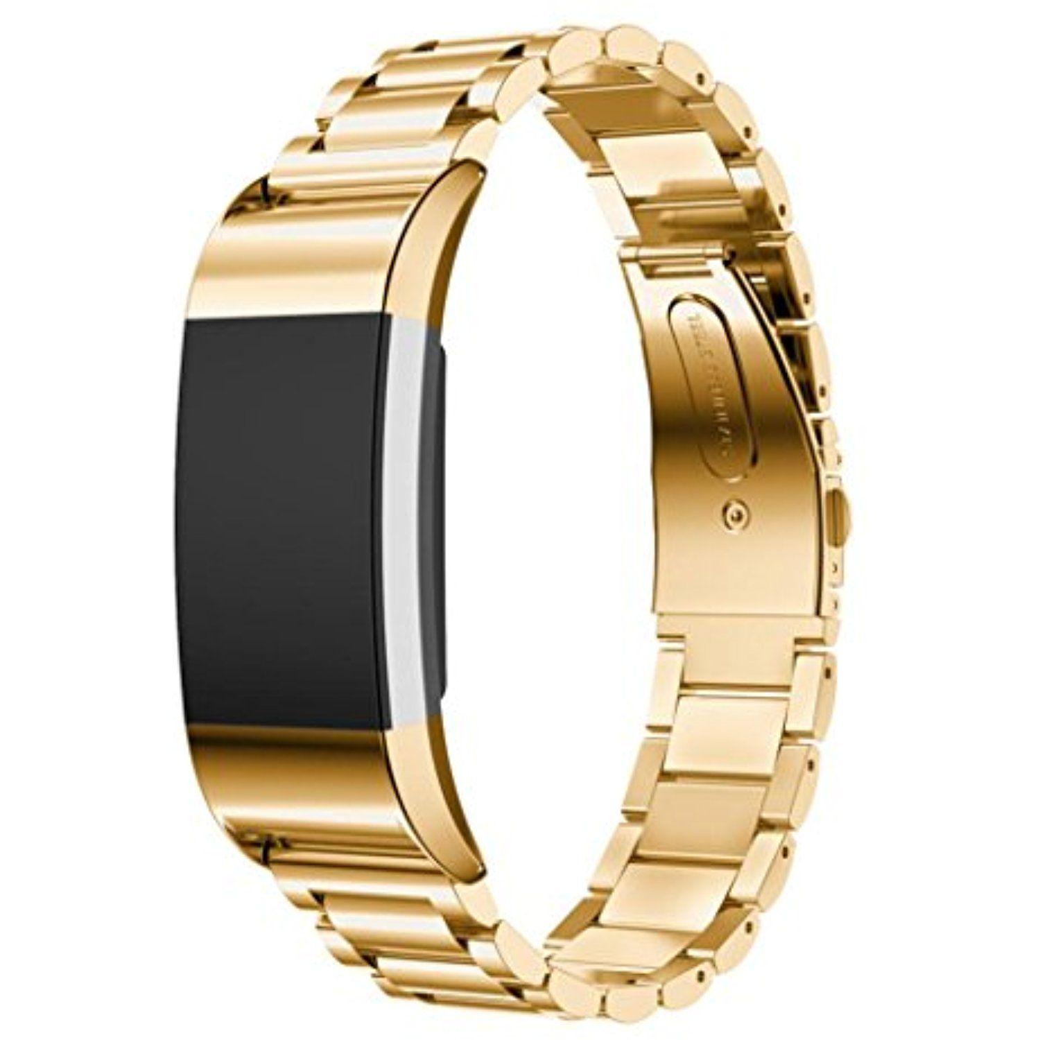 Pumsun band strap for fitbit charge stainless steel bracelet