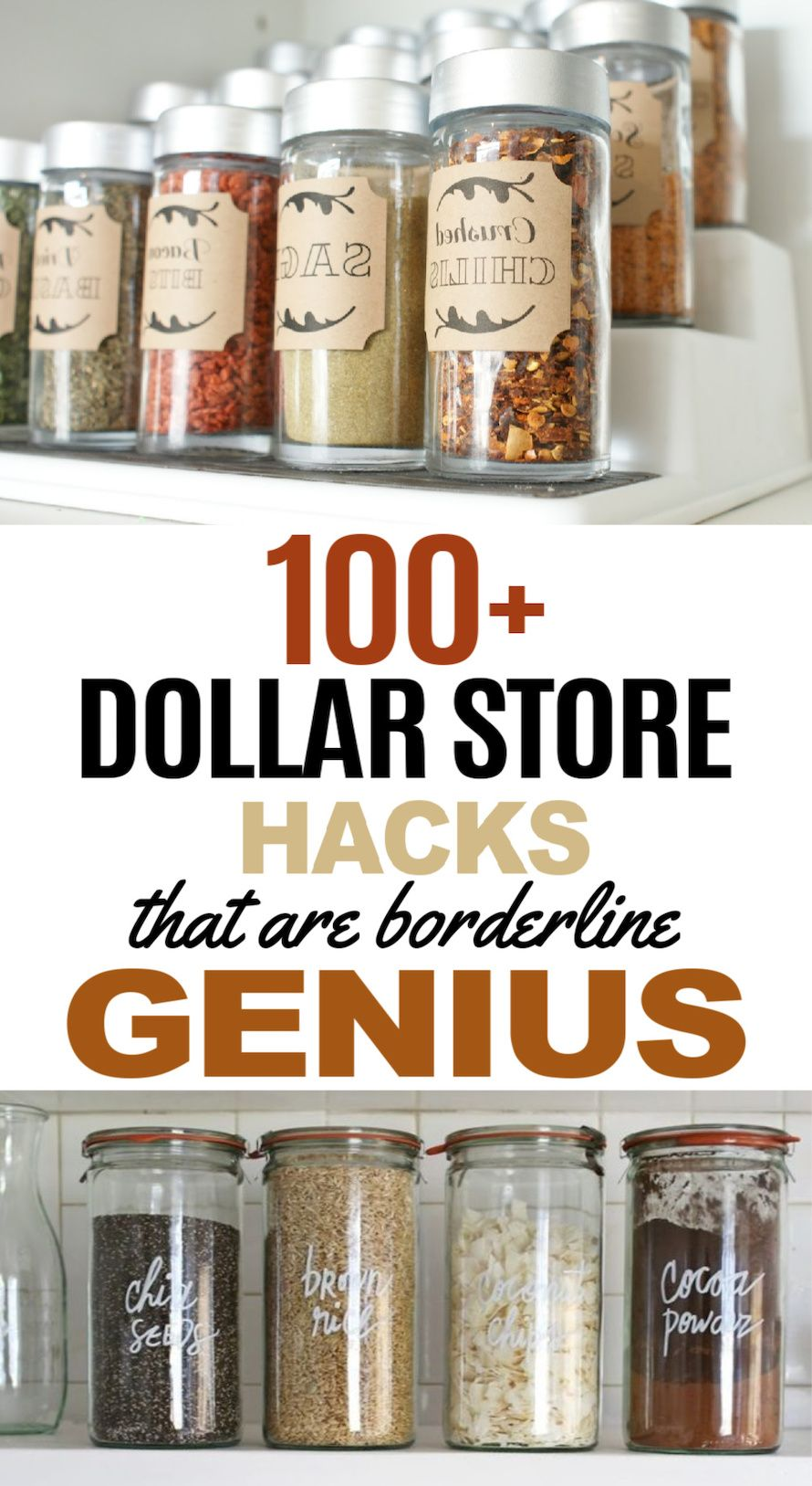 100 Dollar Store Hacks That Are So Clever Dollar Store Hacks