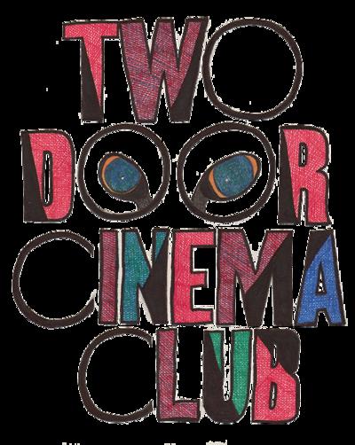 Music Tee TWO DOOR CINEMA CLUB OVERLAY TOUR