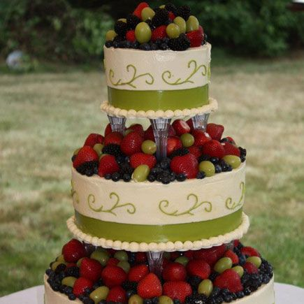wedding cake recipes fruit ooooh green and fruit this is probalby my favorite 23625