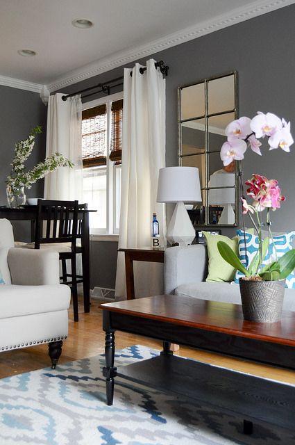 Curtains Living Room Grey Walls