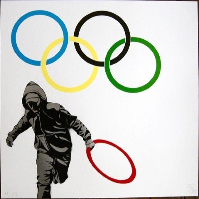 #StreetArt #Olympics :: Pure Evil, 2011