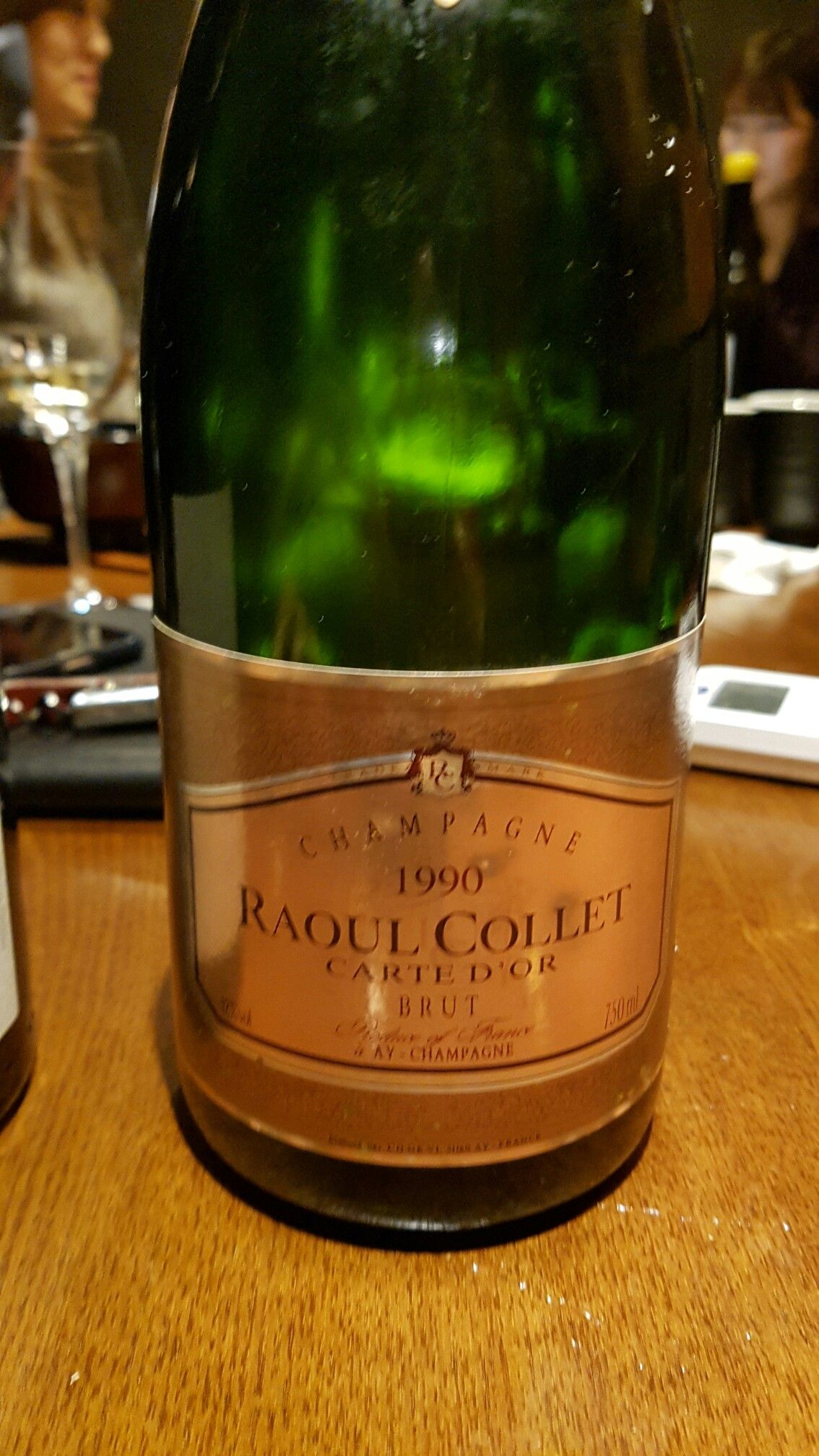 Raoul Collet 1990 - Wow what is this??   CHAMPAGNES