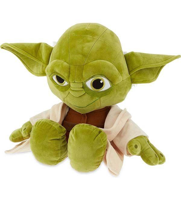 "Posh Paws Star Wars 10/"" Yoda Deco Plush Soft Cuddly Toy"