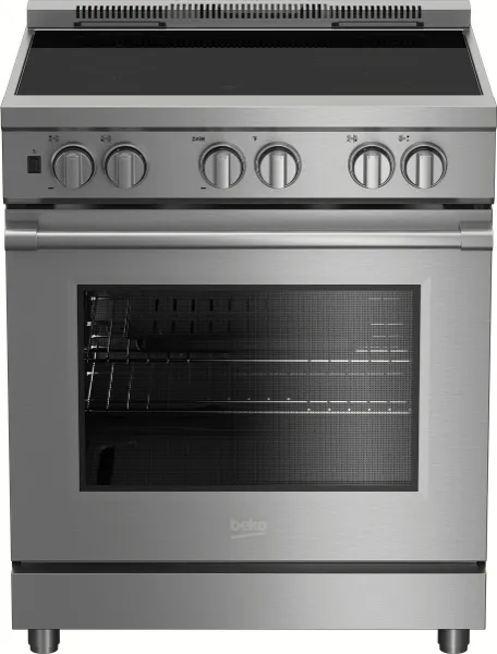 Beko 30 Stainless Steel Pro Style Induction Range Prir34450ss Albert Lee Puget Sound Area Induction Range Beko Electric Convection Oven