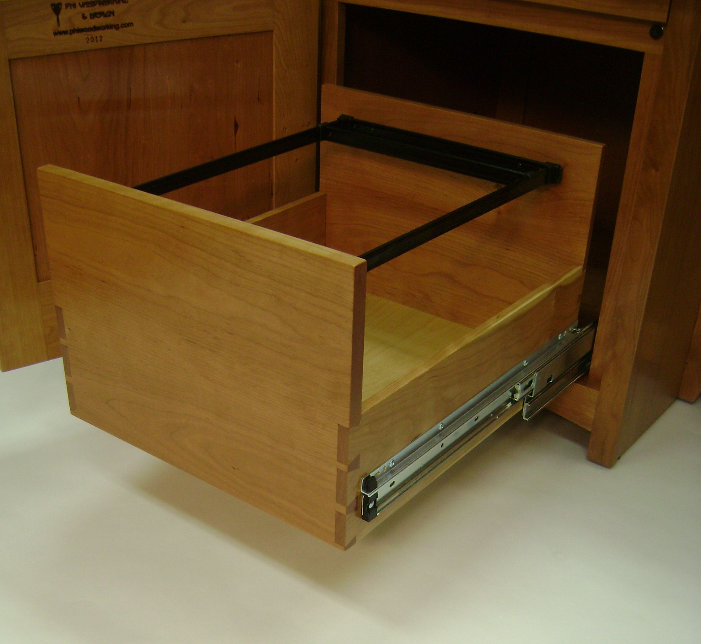 step drawers way hanging easy cupboard the how of attach house install img slides drawer to