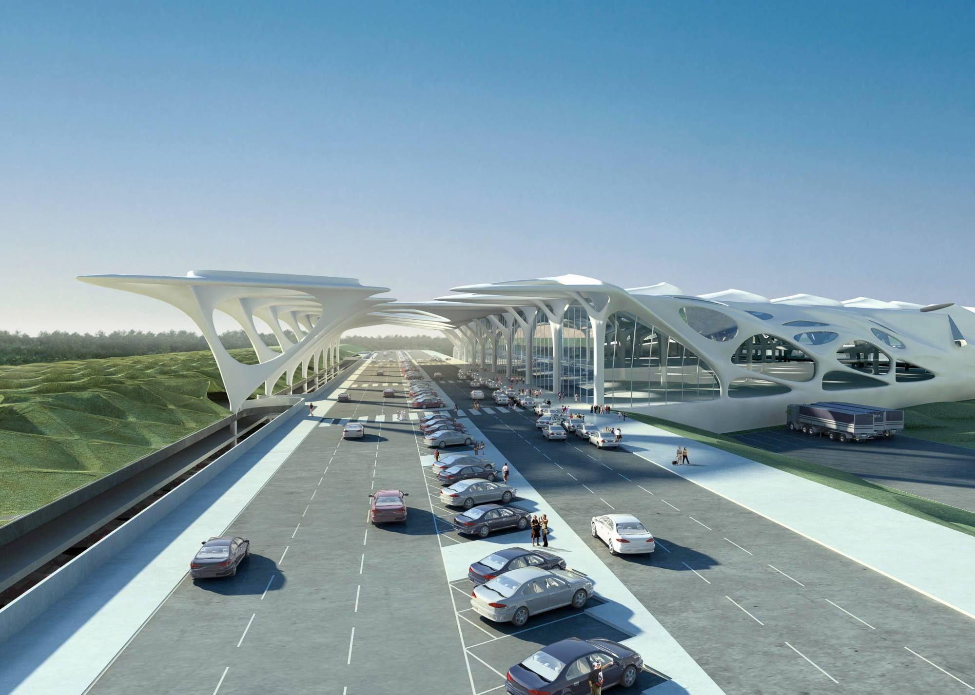 Zagreb Airport By Zaha Hadid Zaha Hadid Architects Zaha Hadid Architecture Zaha Hadid