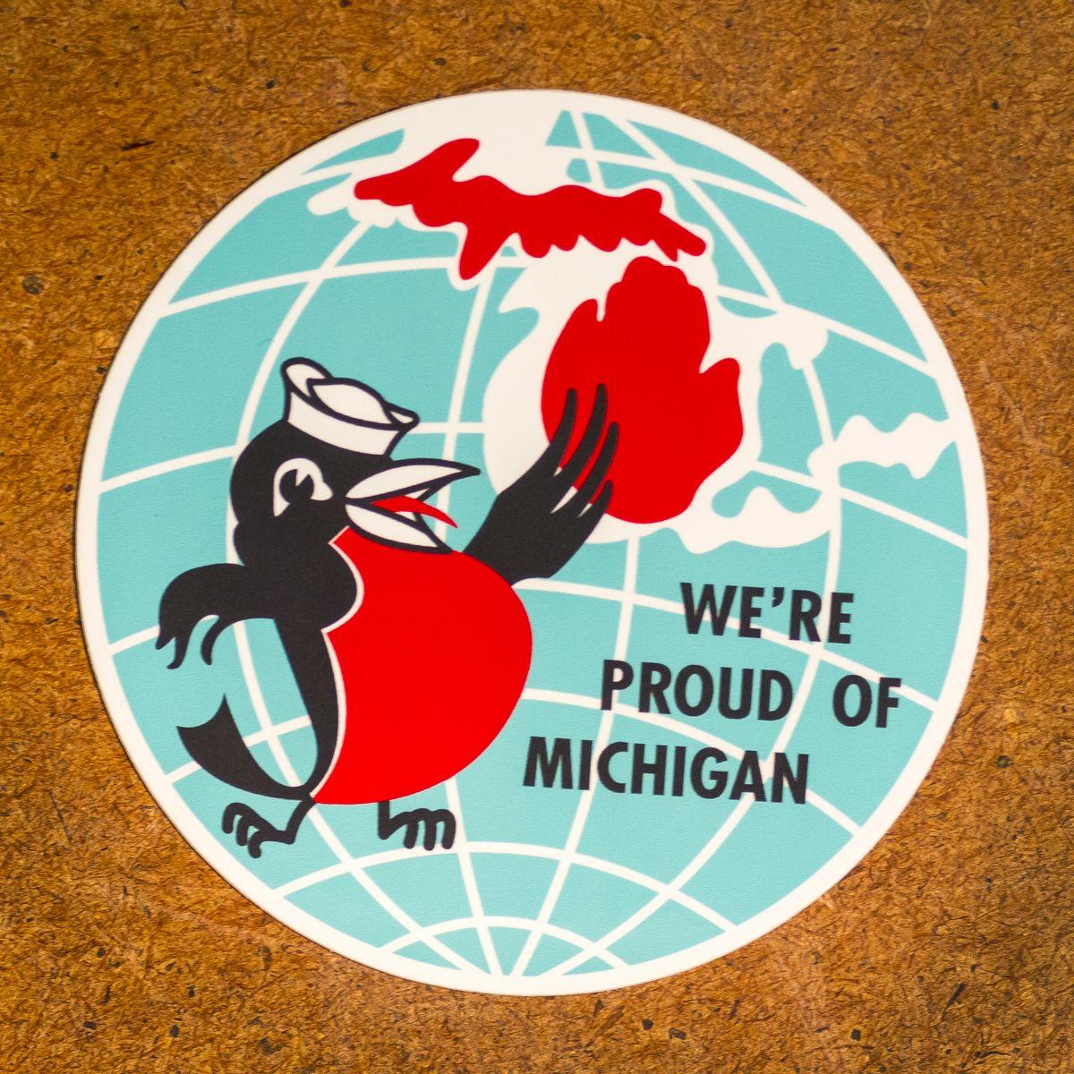 Michigan Pride Decal – Detroit Mercantile