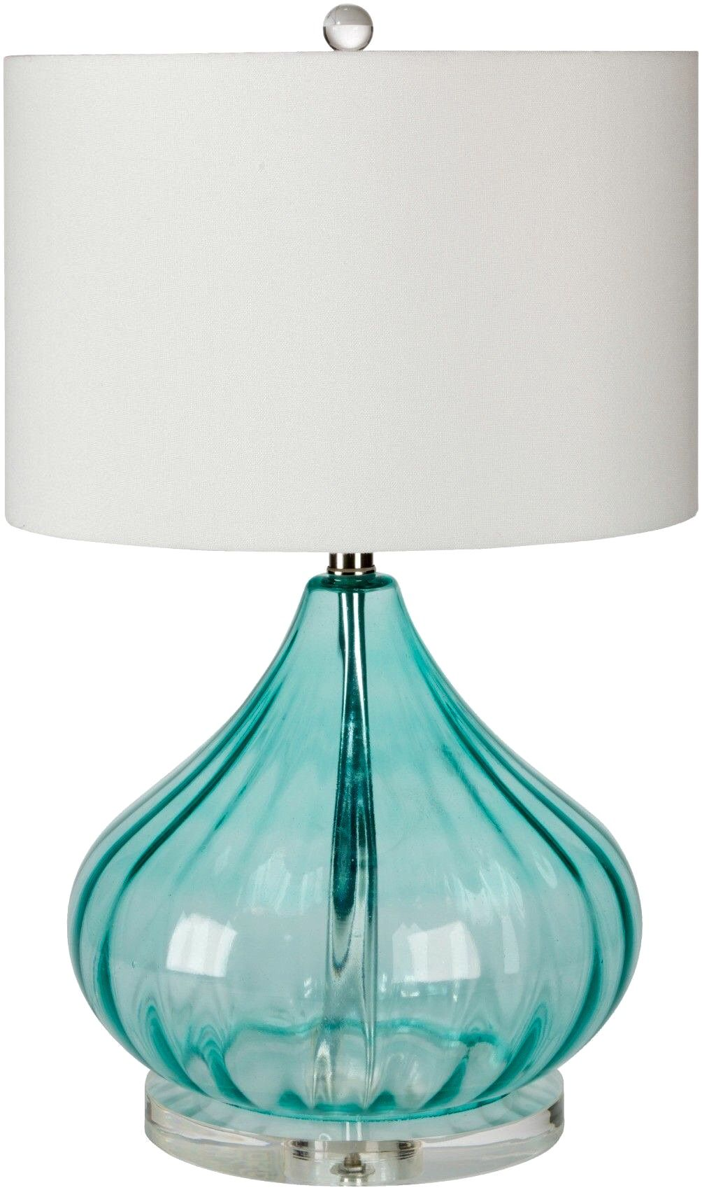 textured white lamp light shades globe of table products shade aqua