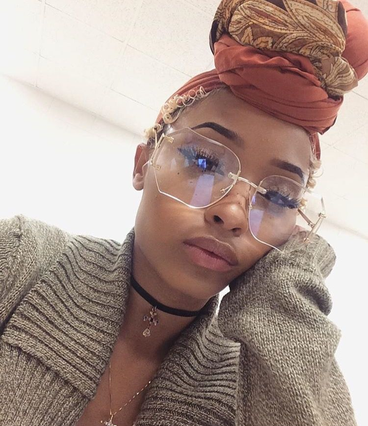 Rust Scarf hairstyles, Natural hair styles, Head wraps