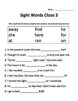 15+ Cloze reading worksheets Popular