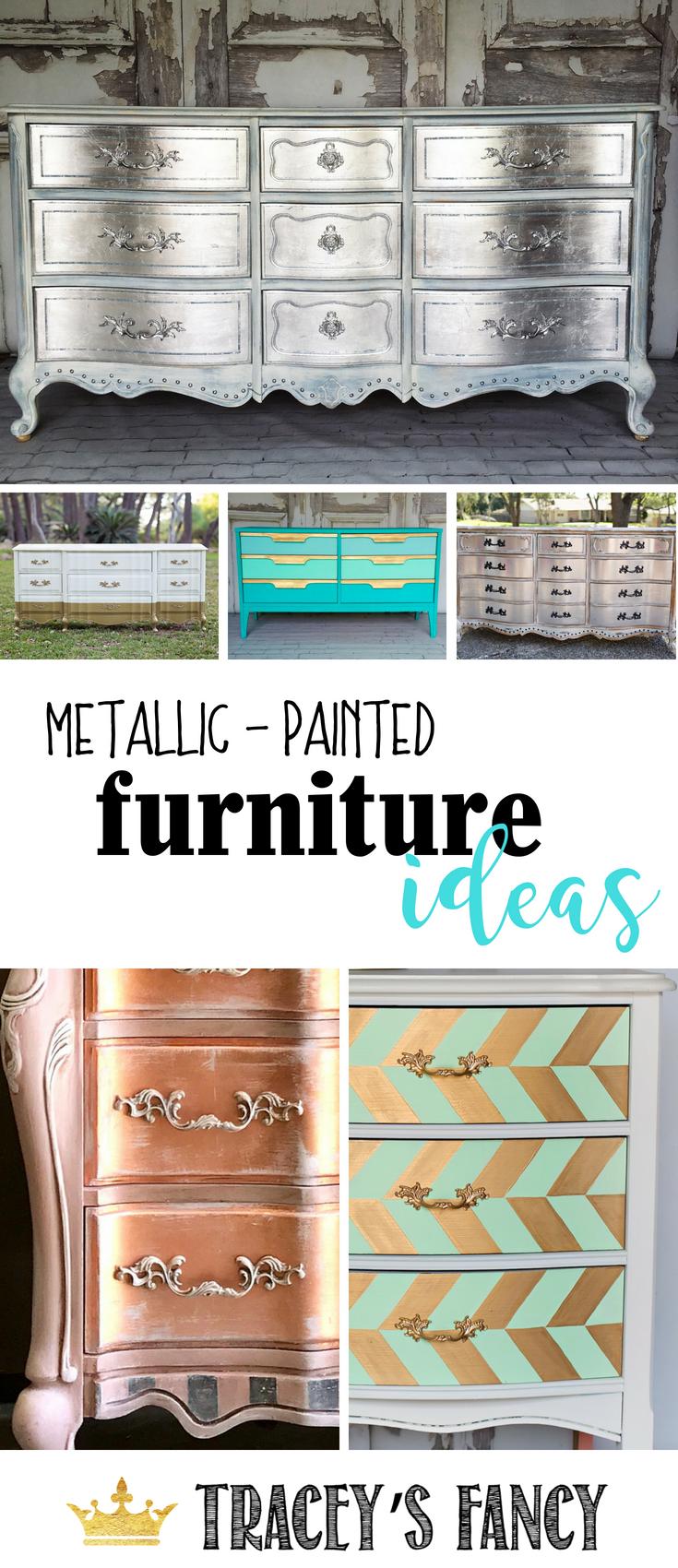 Tracey S Paint Blending Techniques For Furniture Tracey S Fancy Painted Furniture Metallic Painted Furniture Gold Painted Furniture