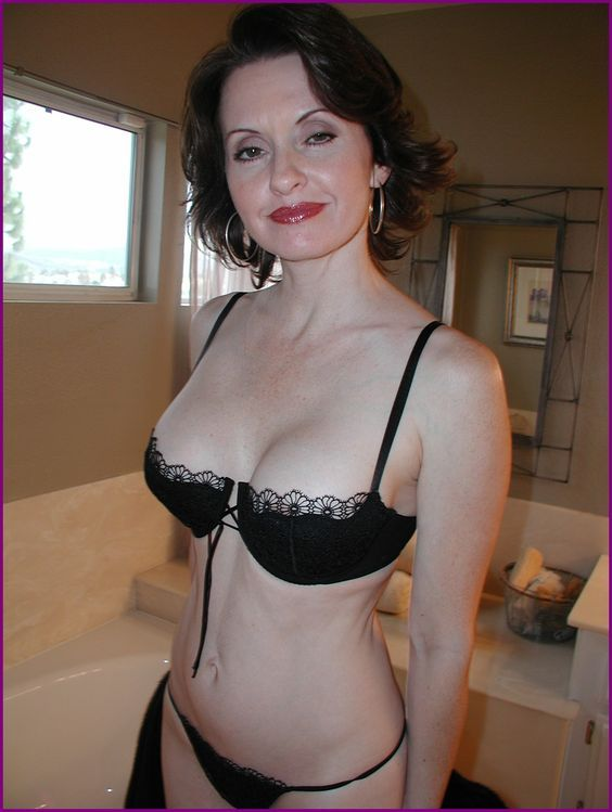 through lingerie milf see Mature