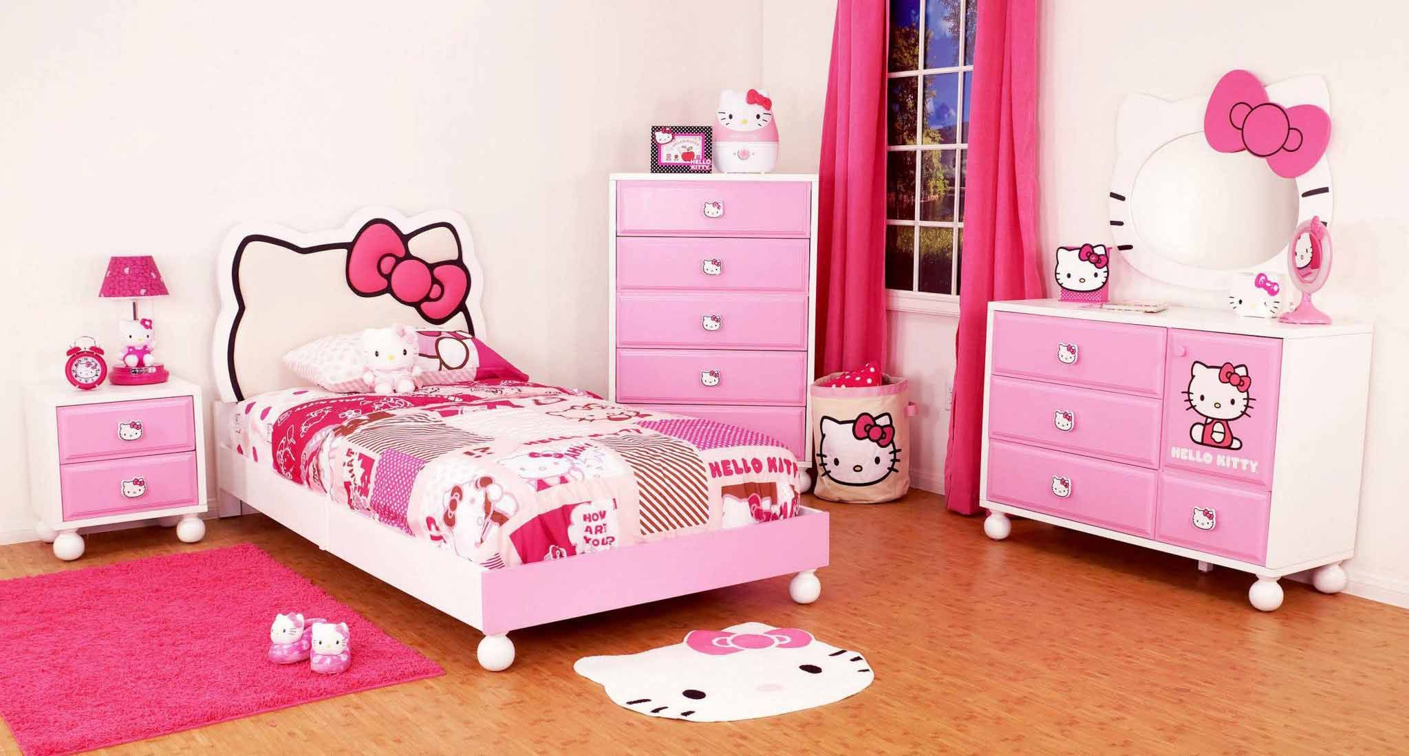 25 Adorable Hello Kitty Bedroom Decoration Ideas For Girls Hello