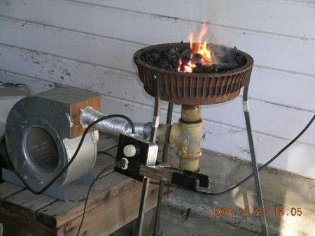 DIY Forge #homemadetools