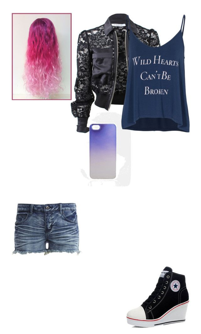 """Meet me at sunset"" by juby-gray ❤ liked on Polyvore featuring beauty, Givenchy, ASOS, Wildfox and VILA"