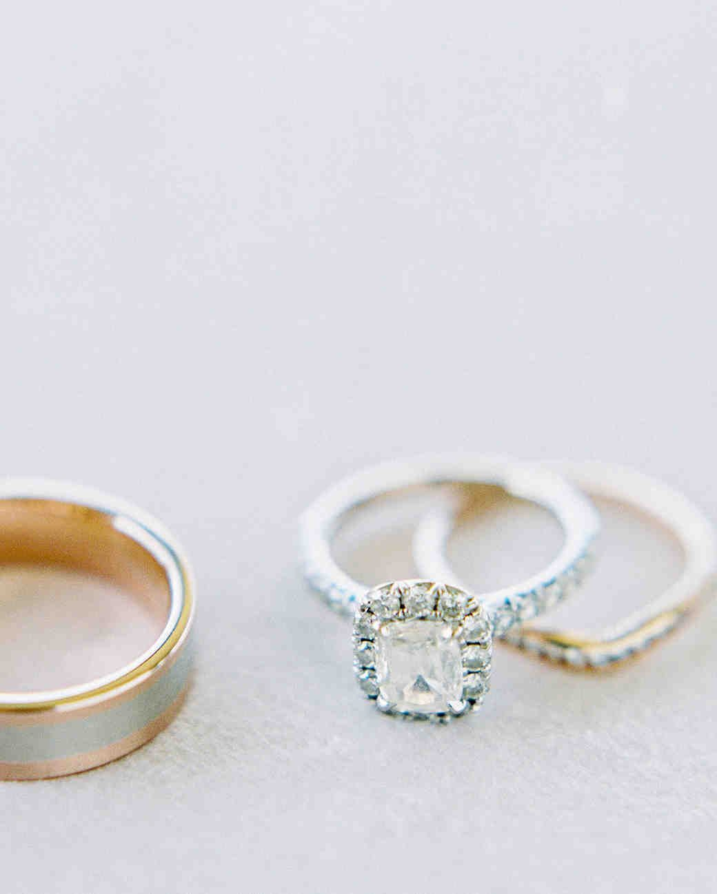 Engagement Rings Okc: A Romantic, Flower-Filled Wedding In Oklahoma