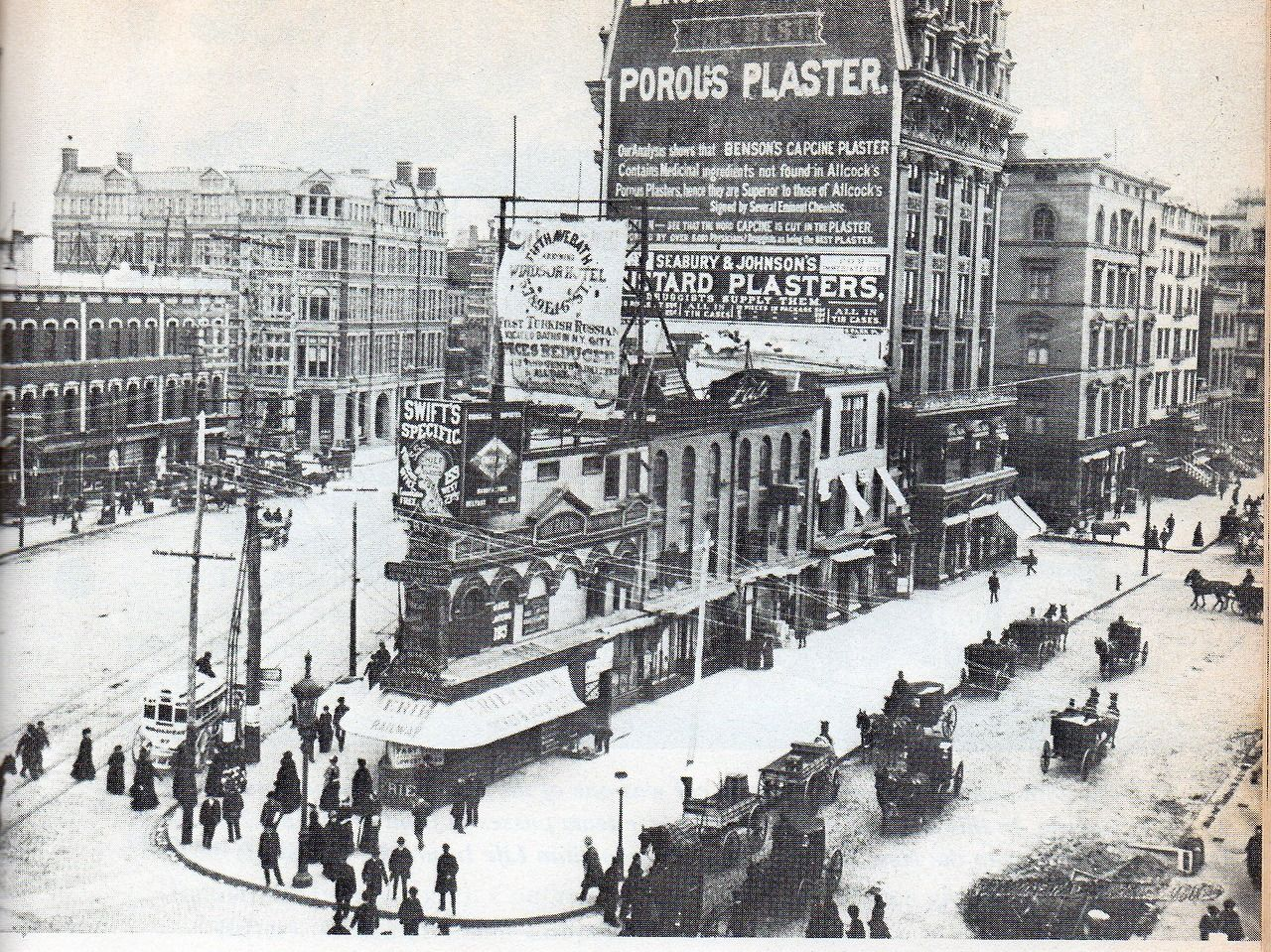 Before The Flatiron Building Went Up On The Same Lot New