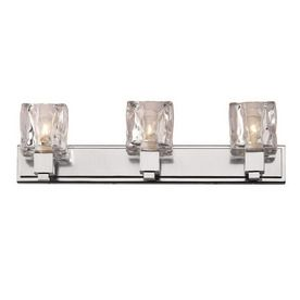 Philips Forecast Light Gold Coast Chrome Bathroom Vanity Light