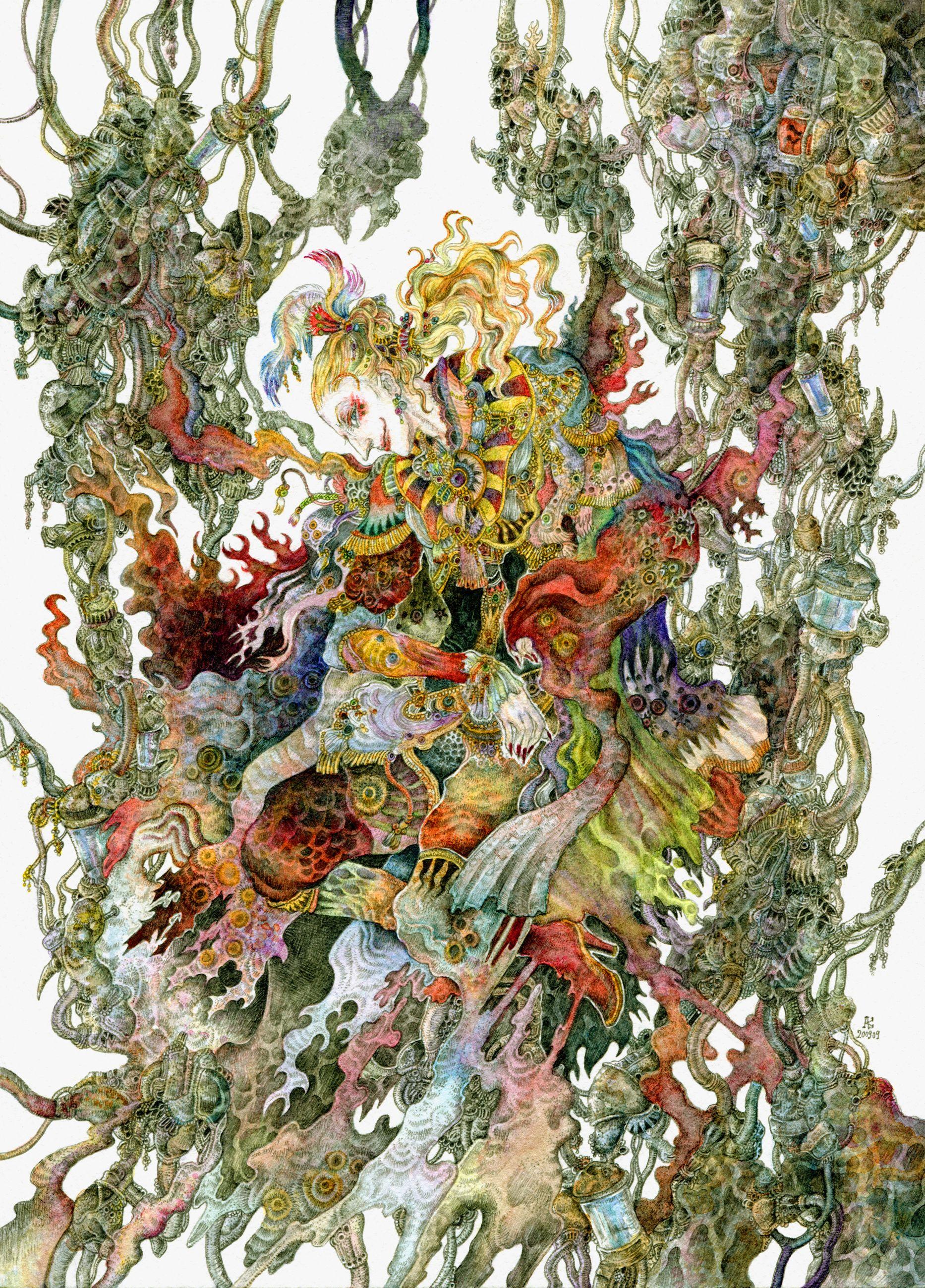 Kefka Pallazzo Final Fantasy Art Final Fantasy Artwork Pop Illustration