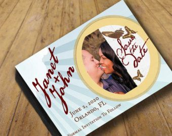 """PDF Print or 50+ magnets Save the Date Announcements 5.59"""" x 4.33""""  Simple rustic save the date, rustic, sun, light"""