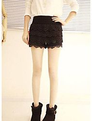 Women's Lace Tassels Base Shorts