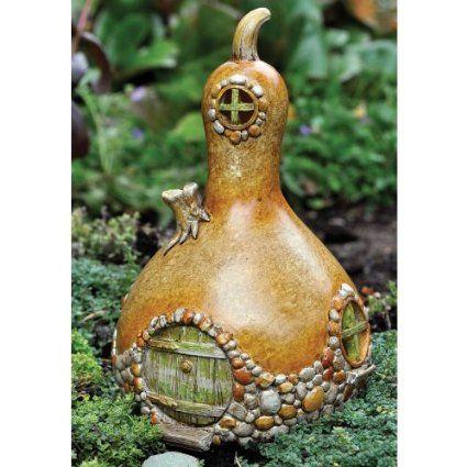 Miniature Fairy Garden Gourd House: Amazon.ca: Patio, Lawn & Garden