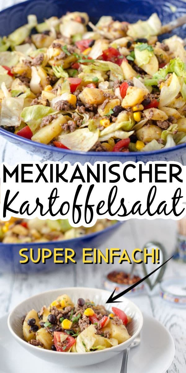 Mexikanischer Kartoffelsalat und Urlaubsbilder - Eine Prise Lecker