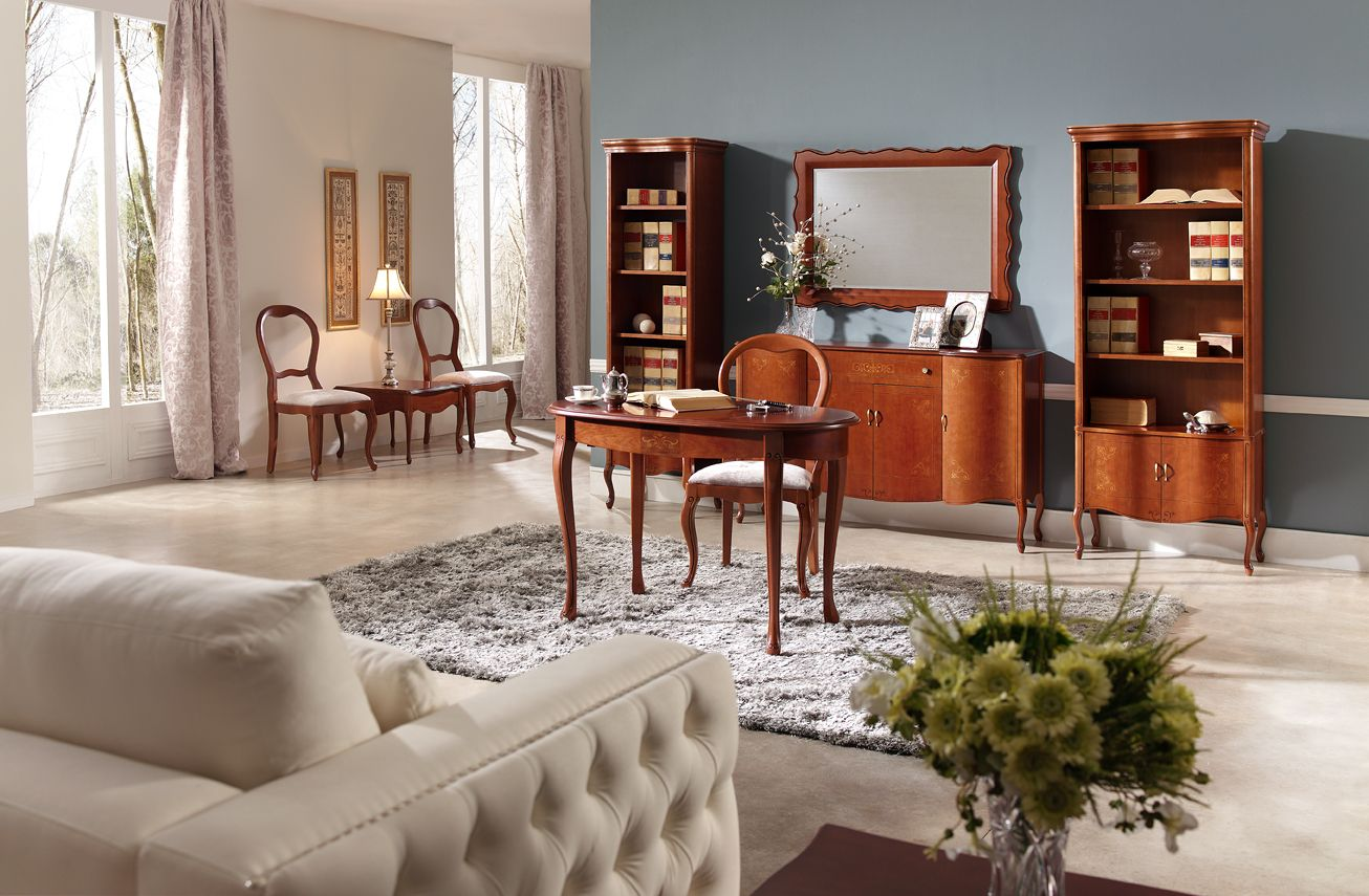 PANAMAR wooden living room Classic Style & Tradition