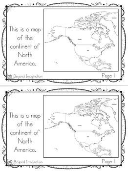 North America Continent Facts Booklet Unit North America Continent Facts Booklet Unit