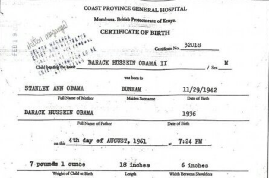 OBAMA\'S BROTHER COMES FORWARD – RELEASES ALLEGED REAL BIRTH ...