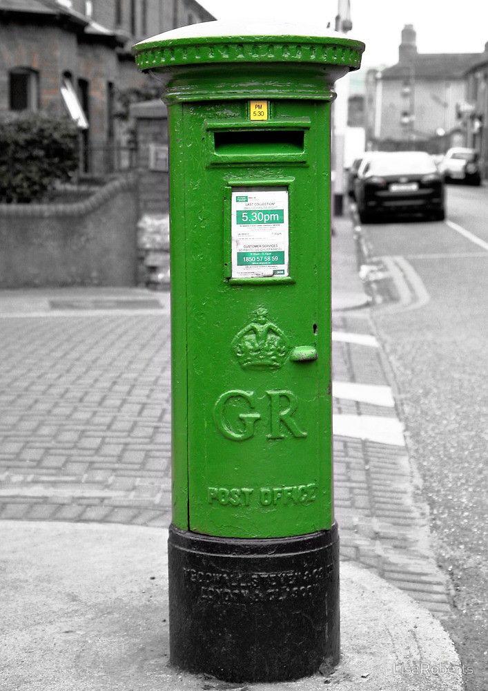 Postbox, Dublin by LisaRoberts Post box, Irish style