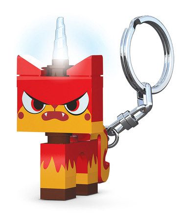 Another great find on #zulily! LEGO Movie Angry Kitty LED Key Chain #zulilyfinds