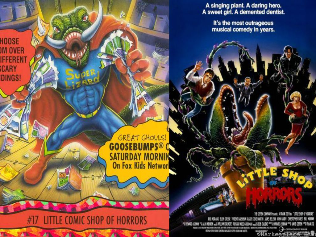 Goosebumps Little Shop Of Horrors Reference By Evanh123 In 2020