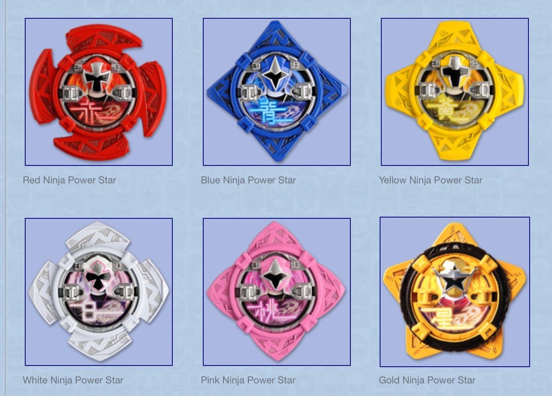 Ninja Power Stars Power Ranger Birthday Party Power Ranger Birthday Power Ranger Party