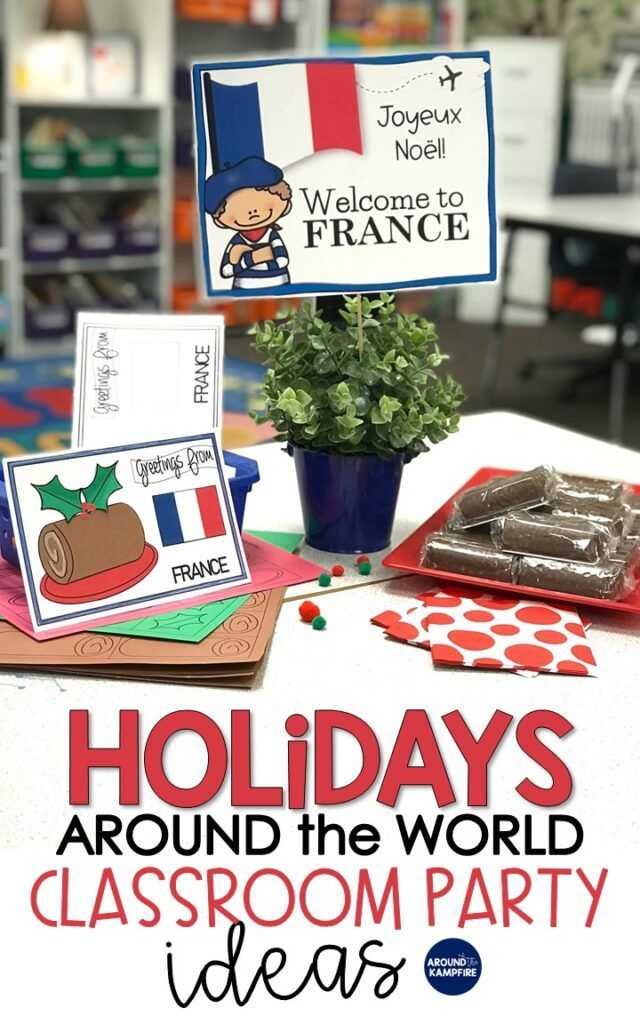 Holidays Around the World Classroom Party Ideas - Around the Kampfire - #around #classroom #holidays #ideas #party #world - #AppetizersForHolidayParty