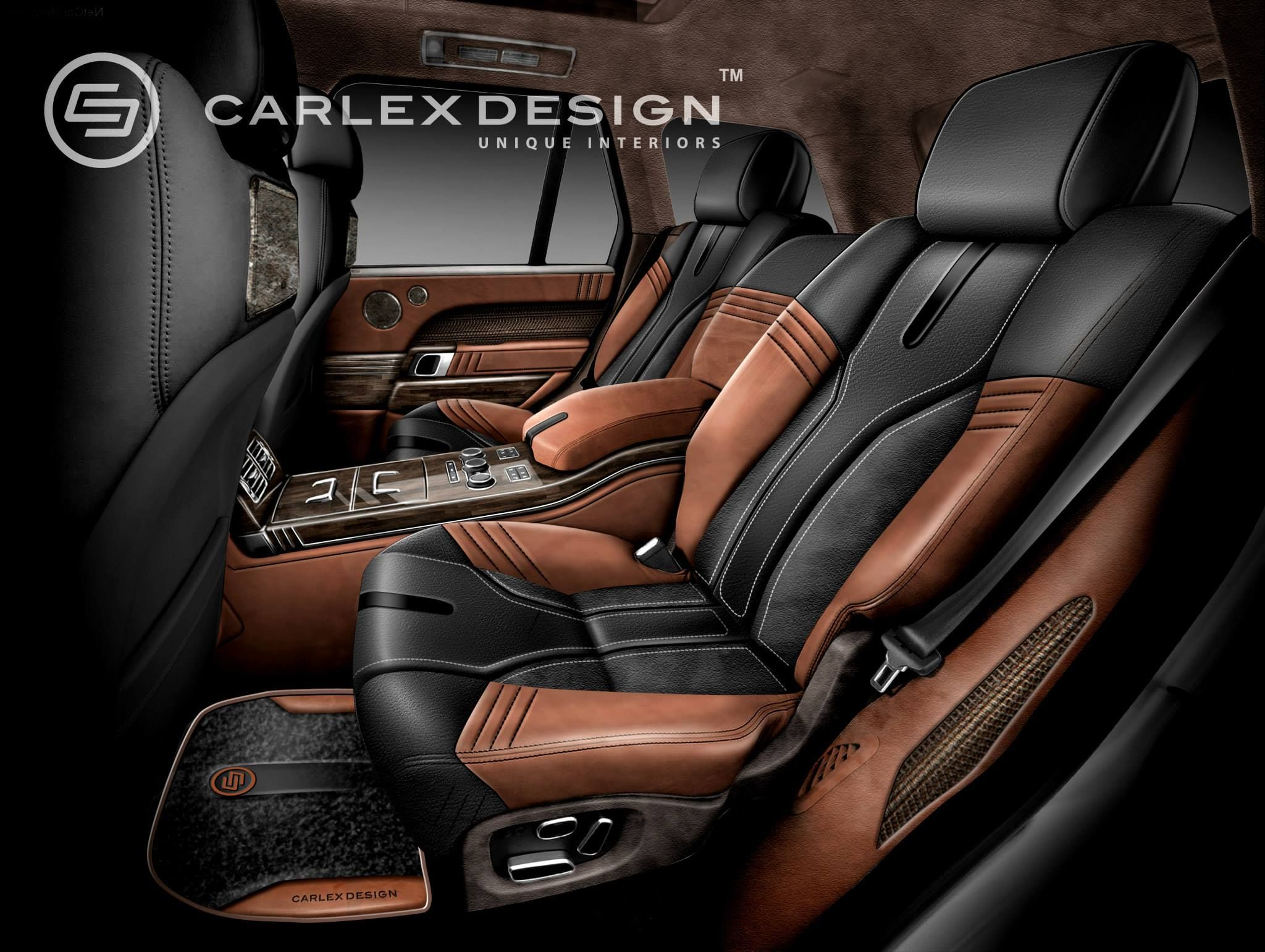 Range Rover Vogue Royal Classic Design Leather Car Seat Covers Leather Car Seats Custom Car Interior
