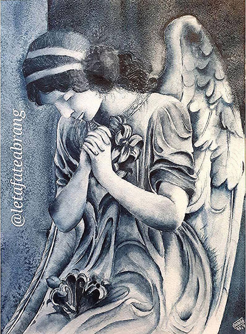 اولین اثر اورجینال  آبرنگ هنرجوی عزیزم🎨 ------‐---------------------- #آزیتا_گودرزتبریزی #watercolor #watercolour #watercolorpainting…