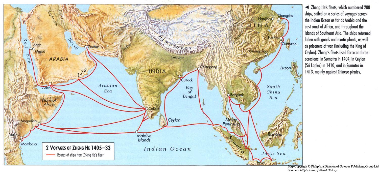 Chinese Treasure Fleet The Adventures Of Zheng He Zheng He