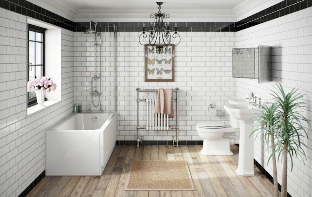 Elegante Ideen für viktorianische Wandfliesen Bad ...