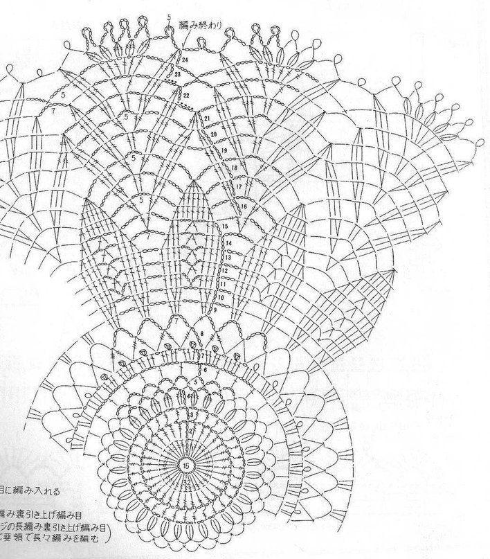 УЮТНОЕ МЕСТО ○Вязание○   ВКонтакте   Crochet doilies   Pinterest
