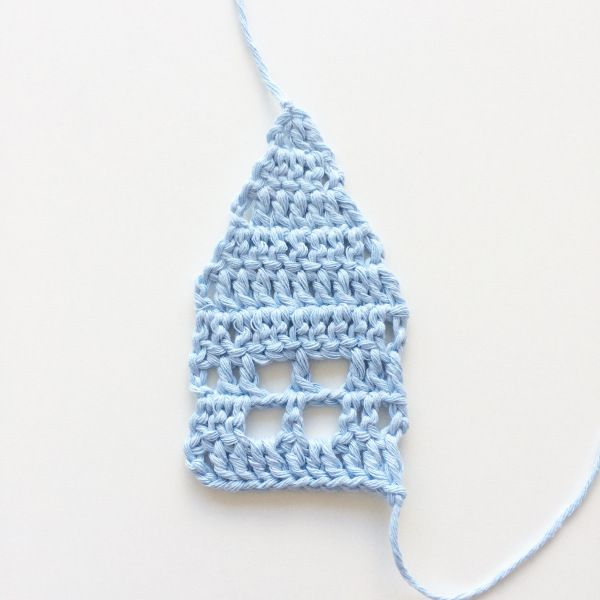 Little crochet house