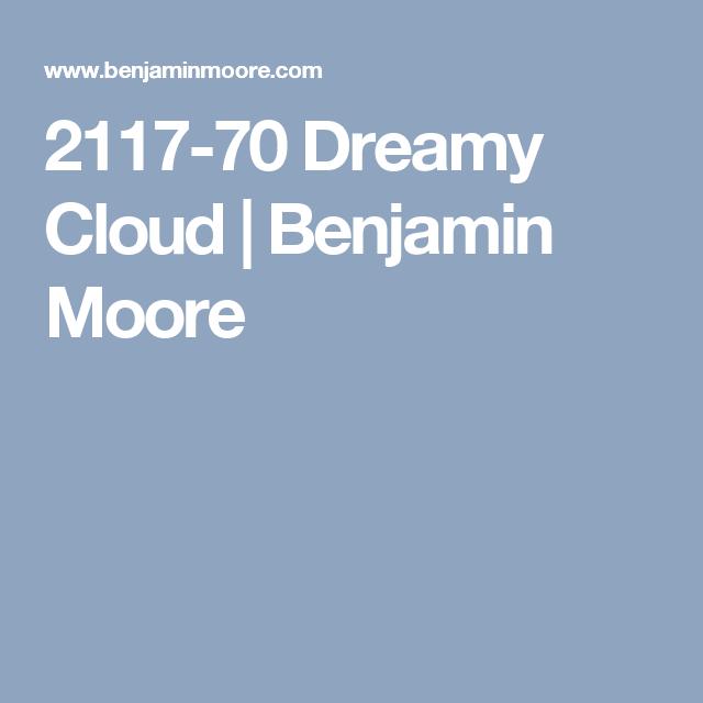 2117-70 Dreamy Cloud | Benjamin Moore