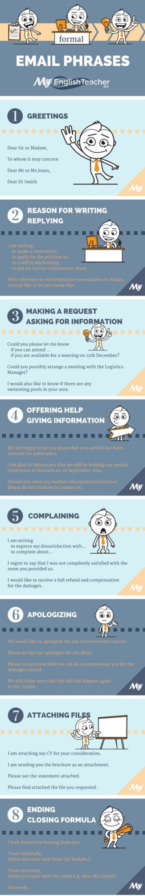 Formal and informal email phrases from greetings to closing use these formal and informal email phrases to make your business emails and general emails look great from opening to closing m4hsunfo
