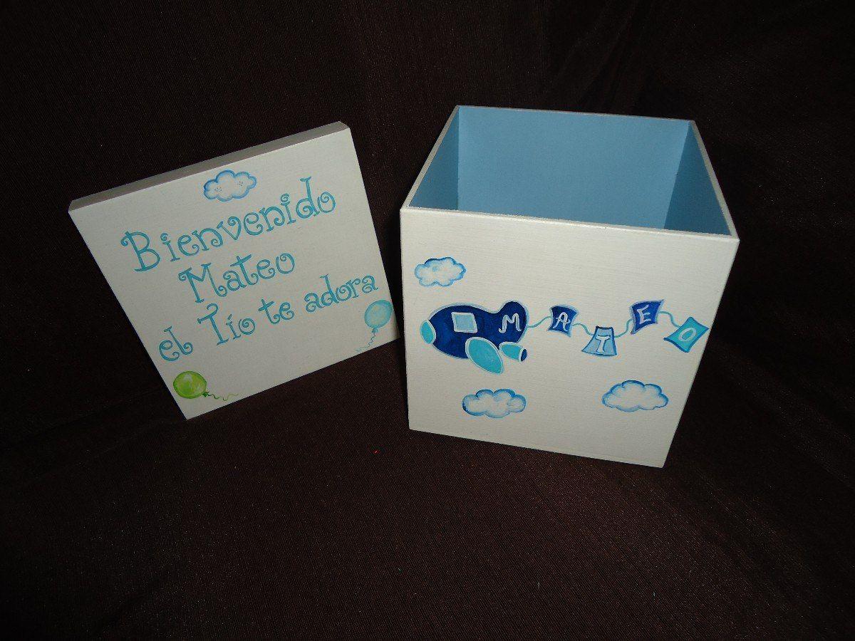 Cajas de madera pintadas a mano para bebes buscar con - Cajas de madera pintadas a mano ...