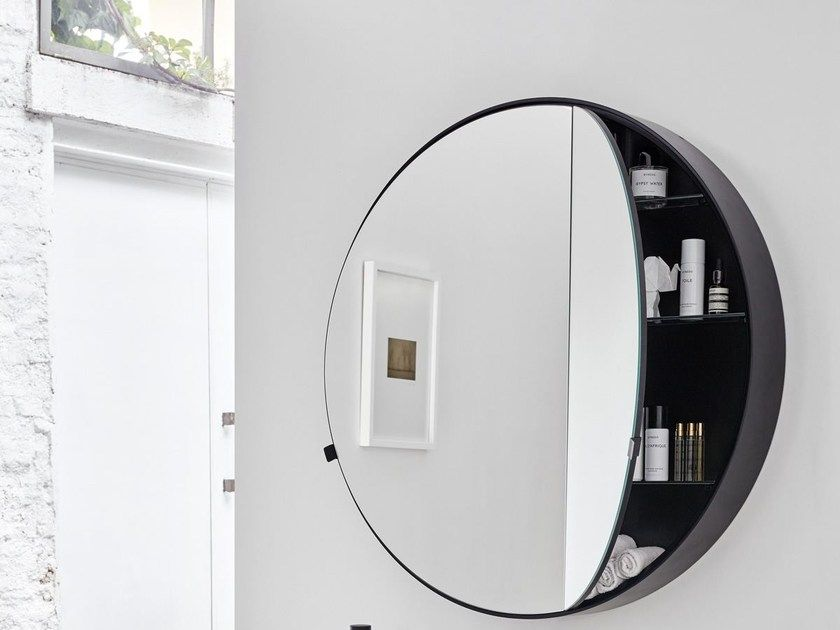 Inspiration From Bathroom Furnishing Of The Early 20th Century Round Mirror Bathroom Bathroom Remodel Cost Wall Mounted Mirror