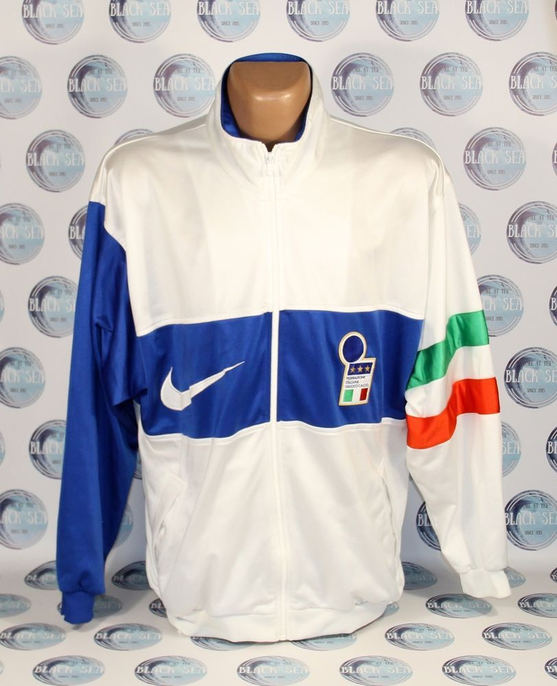sale usa online classic shoes genuine shoes ITALY NATIONAL TEAM 1996 FOOTBALL SOCCER JACKET COAT ...